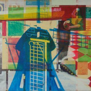2006, Moulin blue, 275 x 215cm